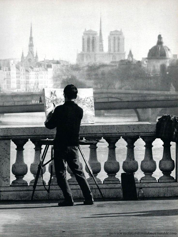 Chamade - Vintage French Photos - Patrice Molinard -Paris 1950s