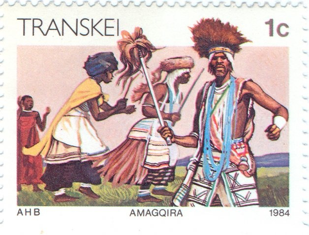 1984 Transkei - Amagqira witch dance of the Xhosa tribe
