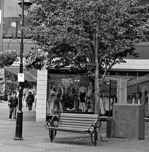 Empty Seat - Bracknell Town Centre