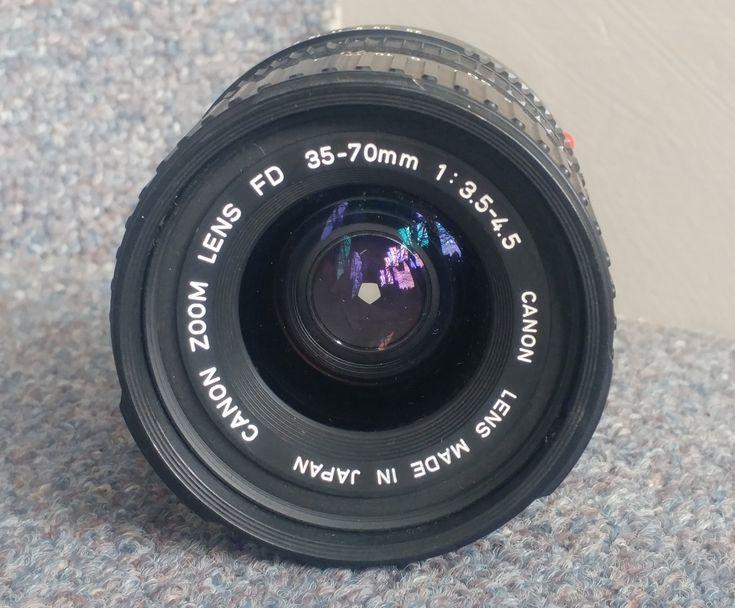 Canon Fd 35 70mm F 3 5 4 5 Etsy Zoom Lens Canon Lens Lens