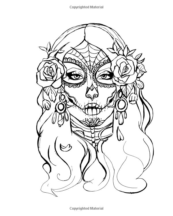 Amazon.com: Gothic Coloring Books For Adults: 2017 Day of ...