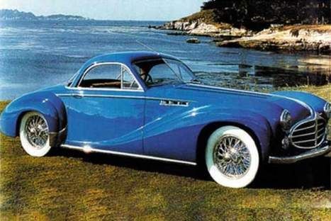 The 1953 Delahaye 235MS coupe is entered in the Dramatic Coachwork class.This is a truly unique, one-of-a-kind car that has not been seenin public for 20 years and will star as part of the councours at Salon Prive 2014.  #carphile