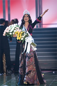 Miss Universe 2007 is Riyo Mori from Japan!