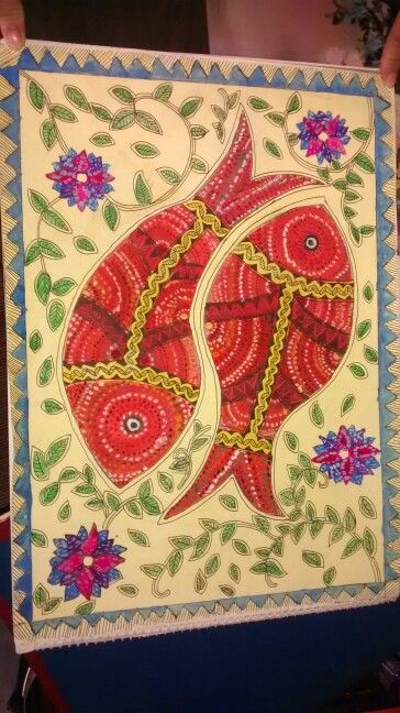 Gond painting...