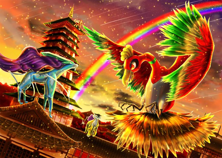 21 Ho-oh (Pokémon) HD Wallpapers   Backgrounds - Wallpaper Abyss