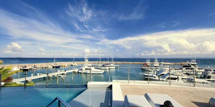 The Bannister Hotel: The hotel is home to one of the peninsula's only marinas, attracting yachts up to 150 feet.