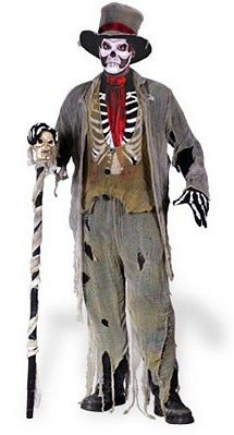 Ghost Groom/ Marley Brothers / Grave Robber men's Victorian costumes