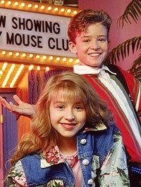 Christina Aguilera and Justin Timberlake: The Mickey Mouse Club.