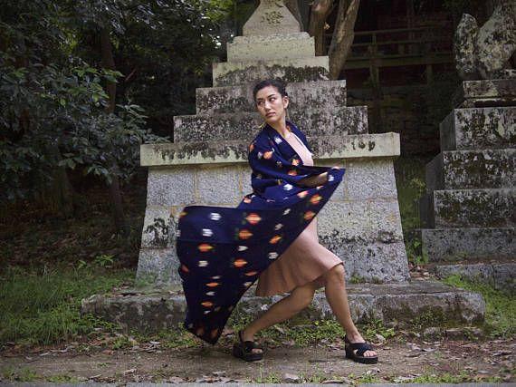 Cotton Yukata perfect for sashaying and summertime festivals!!
