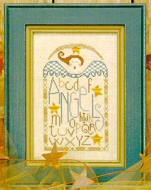 Angels - Cross Stitch Pattern - Dear Lula Rose did this pattern for me one year - it is a treasure.