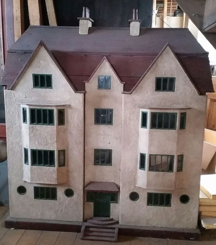 HUGE ANTIQUE DOLLS HOUSE AS FEATURED ON ANTIQUES ROADSHOW NEVER BEEN FOR SALE B4 | Dolls & Bears, Dolls' Miniatures & Houses, Dolls' Houses | eBay!