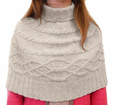 Pure CASHMERE Knitted Turtleneck CAPELET Shoulder Warmer, Plait pattern Ivory natural color, Wedding accessories made in Italy Free Shipping di Italiancashmere su Etsy