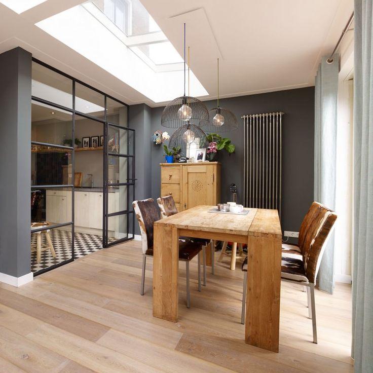 17 beste idee n over keuken deuren op pinterest pantry deuren rustieke boerderij en vintage - Eetkamer keuken ...