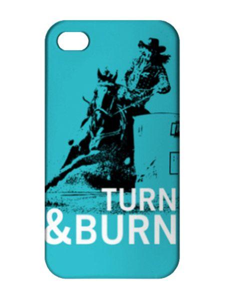 Barrel Racing Phone Case / Turn & Burn