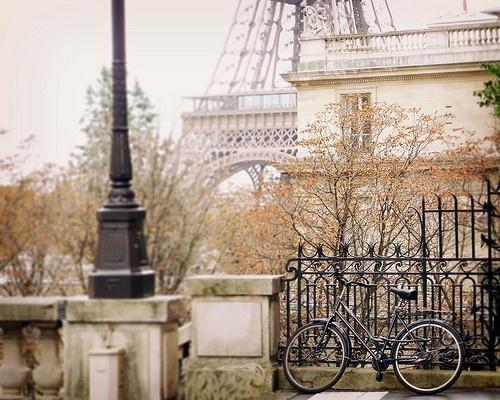 Layers of Parisian streetscape