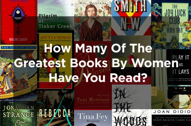 How Many Of The Greatest Books By Women Have You Read
