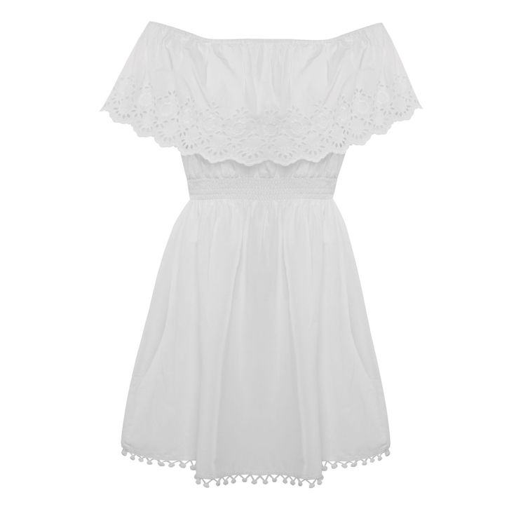 Broidery gypsy dress, £13, Primark