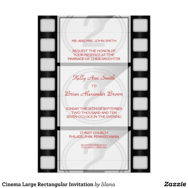 49 best Movie themed wedding invitations images on Pinterest - movie ticket invitations template