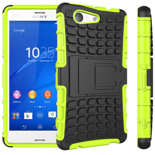 New Case - Green Heavy Duty Tradies Kickstand Case For Sony Xperia Z3 Compact Cover, $11.95 (http://www.newcase.com.au/green-heavy-duty-tradies-kickstand-case-for-sony-xperia-z3-compact-cover/)