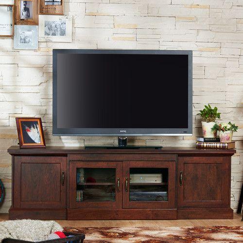 Furniture Of America Walder Vintage Walnut TV Stand