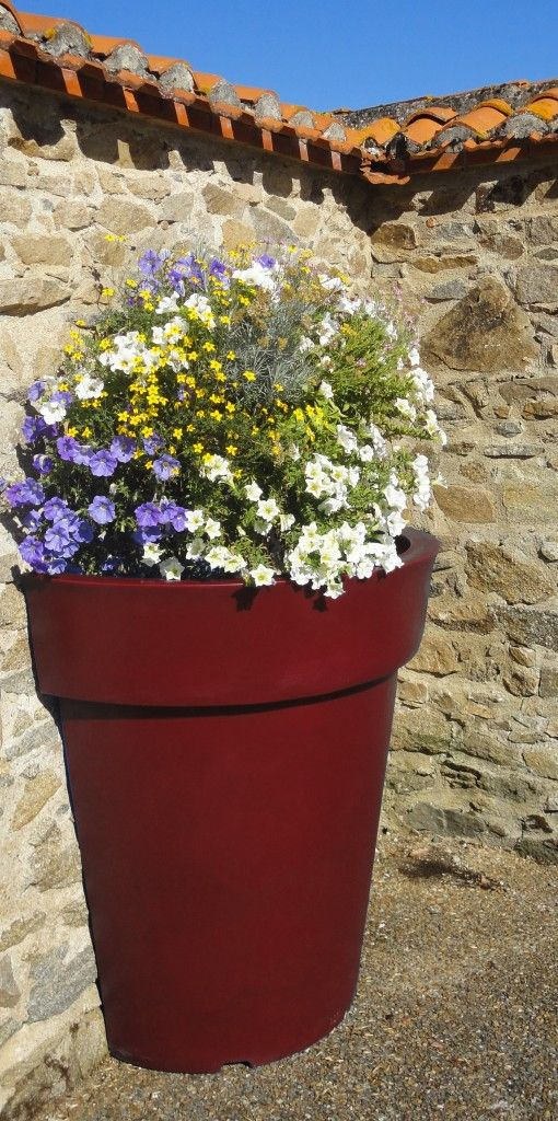 39 best large plastic flower pots for outdoor plants for Outdoor furniture kawana