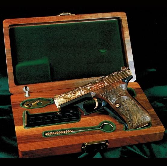 Beautiful HK P7 pistol