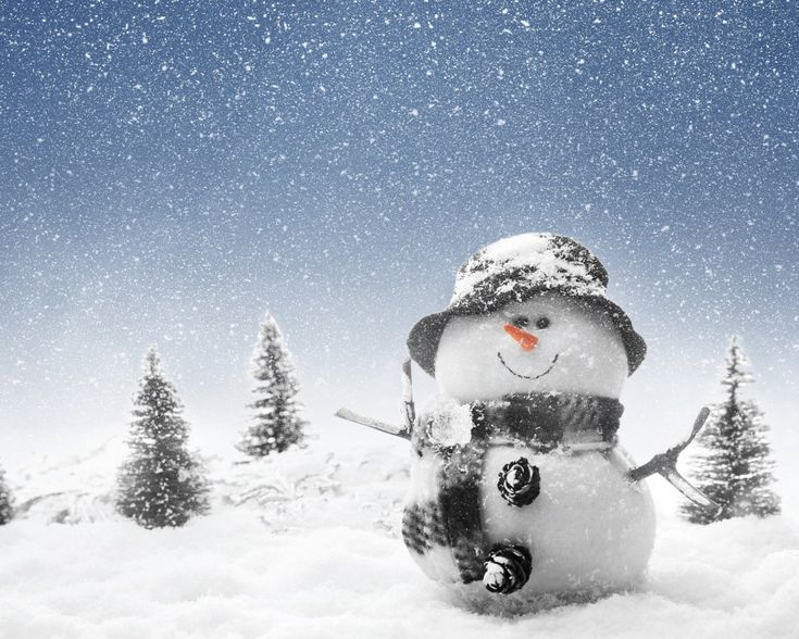 let swon wallpaper | Description The Wallpaper above is Winter Snowman Wallpaper in