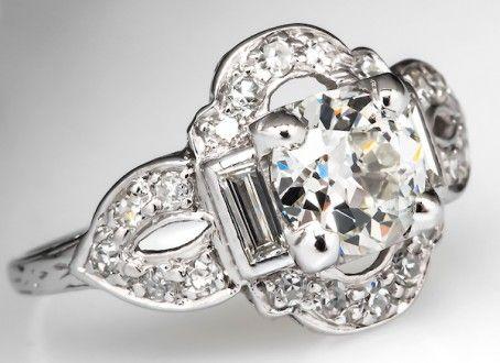 Vintage Engagement Ring Eragem
