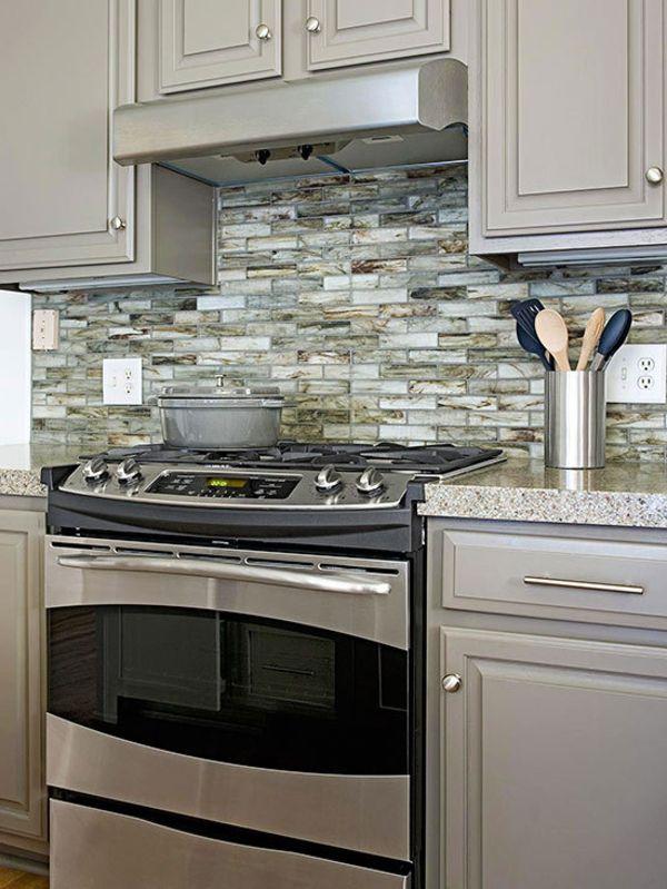 44 best Kitchen backsplash images on Pinterest Kitchen - küchenspiegel aus holz