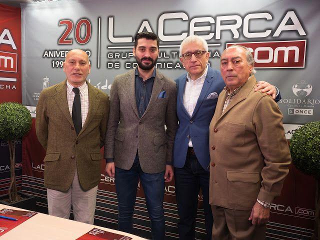 HOMENAJE A LA SAGA TORERA DE LOS CORTÉS POR LA CERCA  Antón Cortés Grupo La Cerca Manuel de Paz Noticias Toros Sebastián Cortés Toreros de Albacete