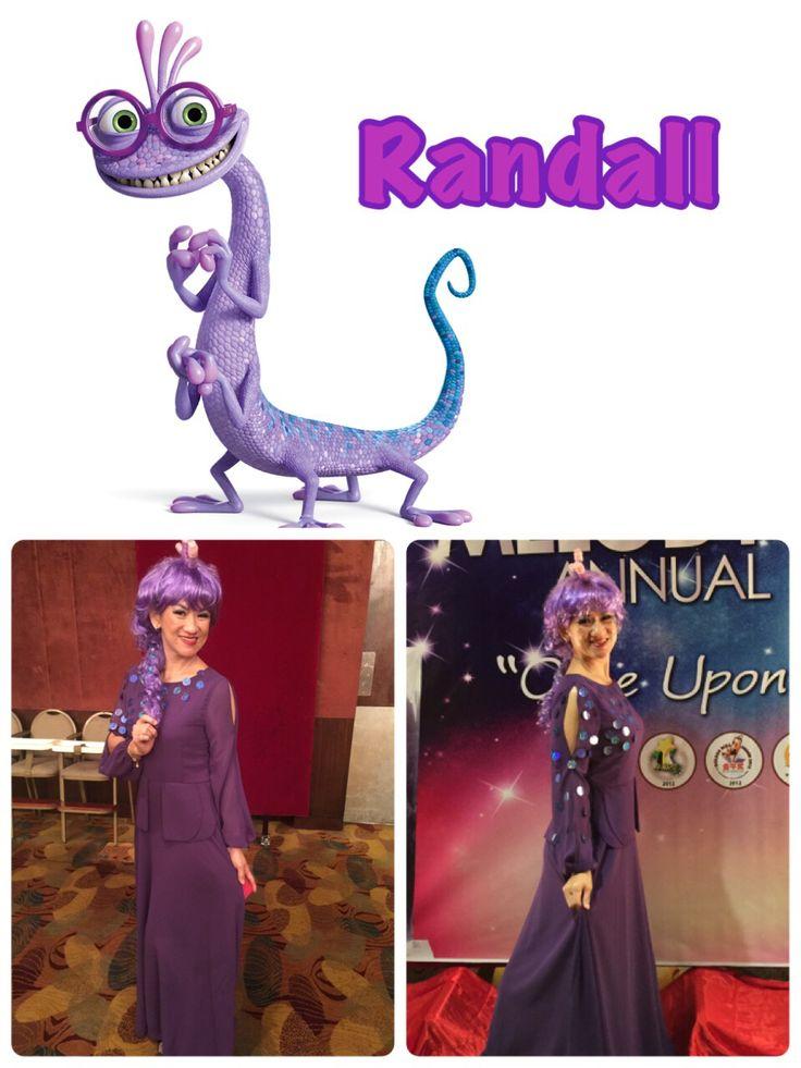 Randall from monster inc  Monster Inc  Monster University