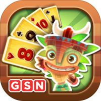 Solitaire TriPeaks by Game Show Network...a fun game involving various solitaire card set ups.