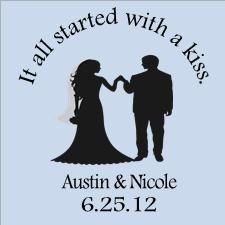 kisses wedding favor sayings favorite favorited like this item add it to your favorites