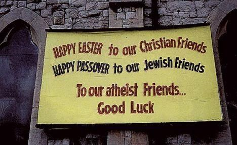 Happy Easter to our Christian Friends Happy Passover to ...