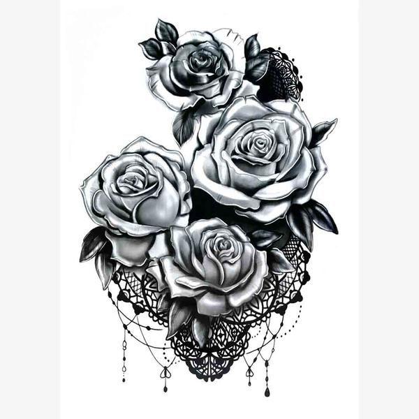UneTattoo MX-1099 Tattoo Decal 15*21 CM(5.9*8.2 IN)