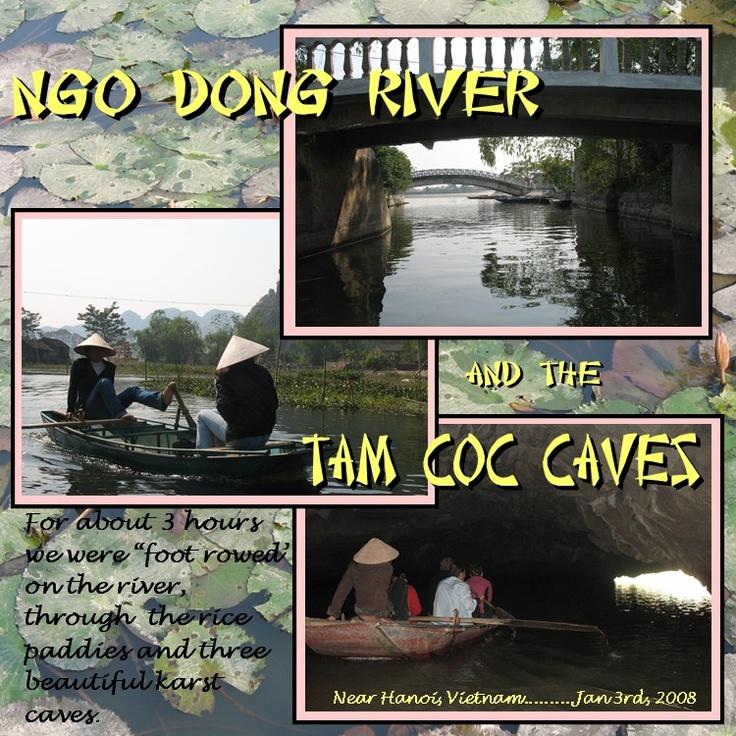 Tam Coc Caves - Scrapbook.com
