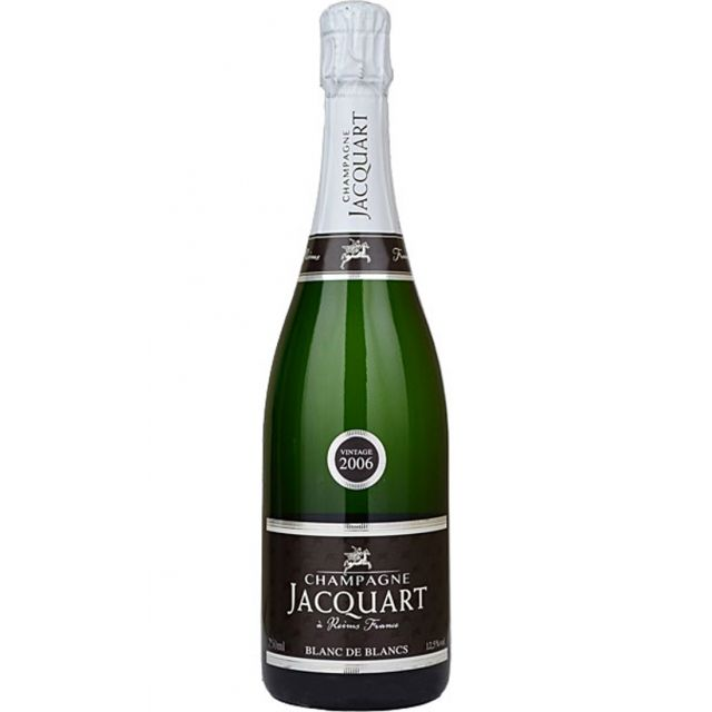 Blanc de Blancs Vintage, Champagne Jacquart | Reims, Champagne | Buy online by the bottle or mixed case from Hic! Wine Merchants