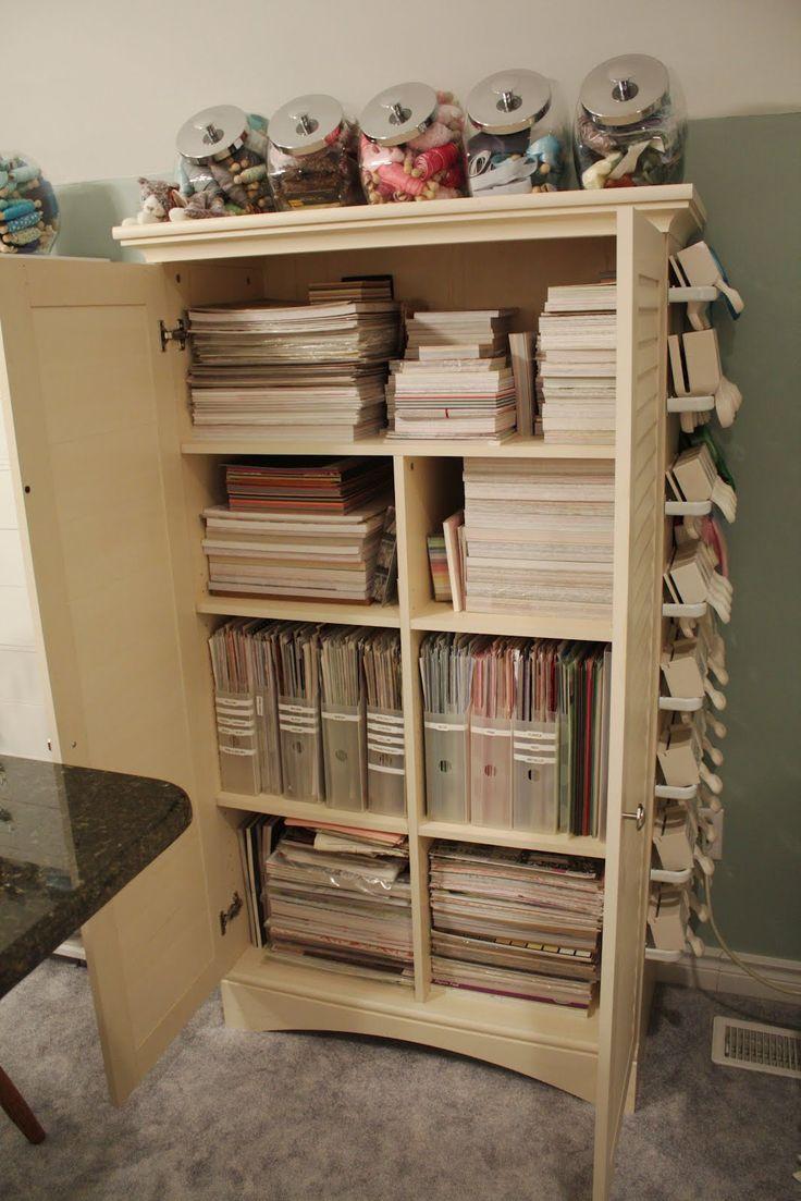 Scrapbook room ideas - Craft Room Organization