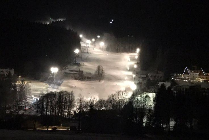 Ski Areál Kopřivná - první zasněžený pohled 2016