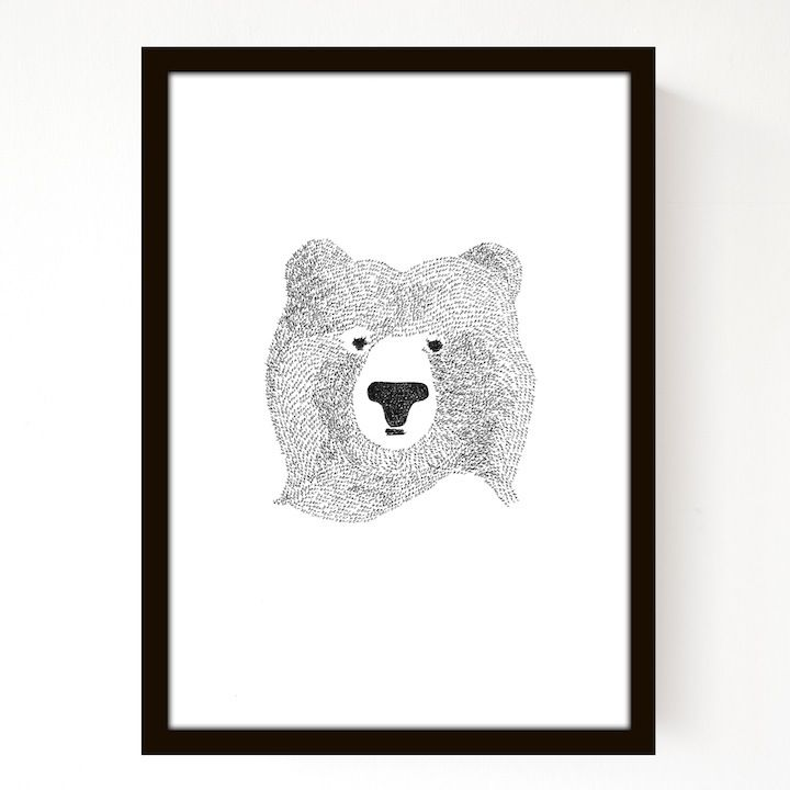Image of Bear Of Few Words (3 Colour Options)