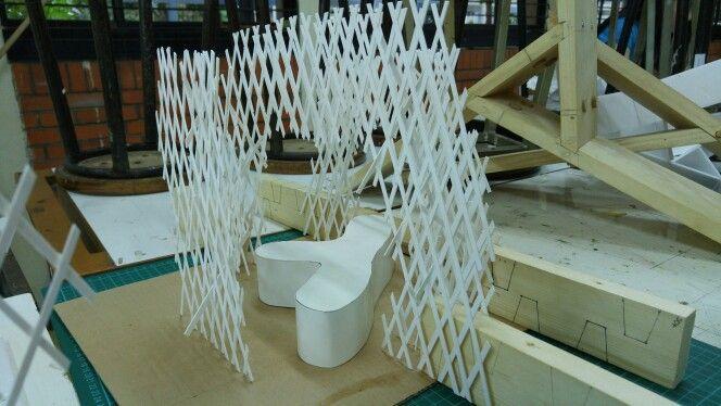 Progress desain shelter (1st design)
