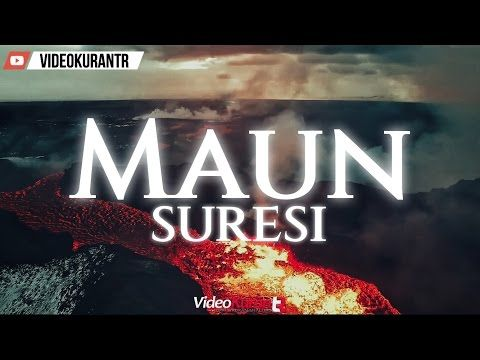 MAUN SURESİ - YouTube