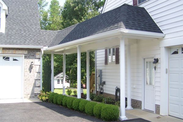 42 best garage images on pinterest breezeway attached for House plans with breezeway to guest house