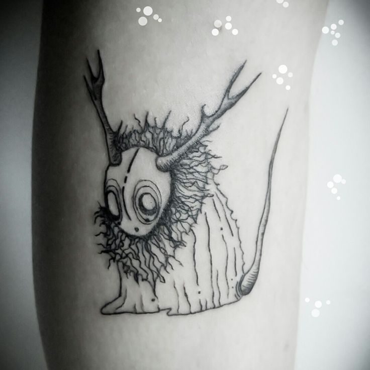 Little Monster, Tattoo by SIX, www.claudiasix.com