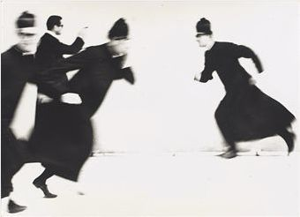 Photo by Mario Giacomelli (1925-2000), 1963, Priests.