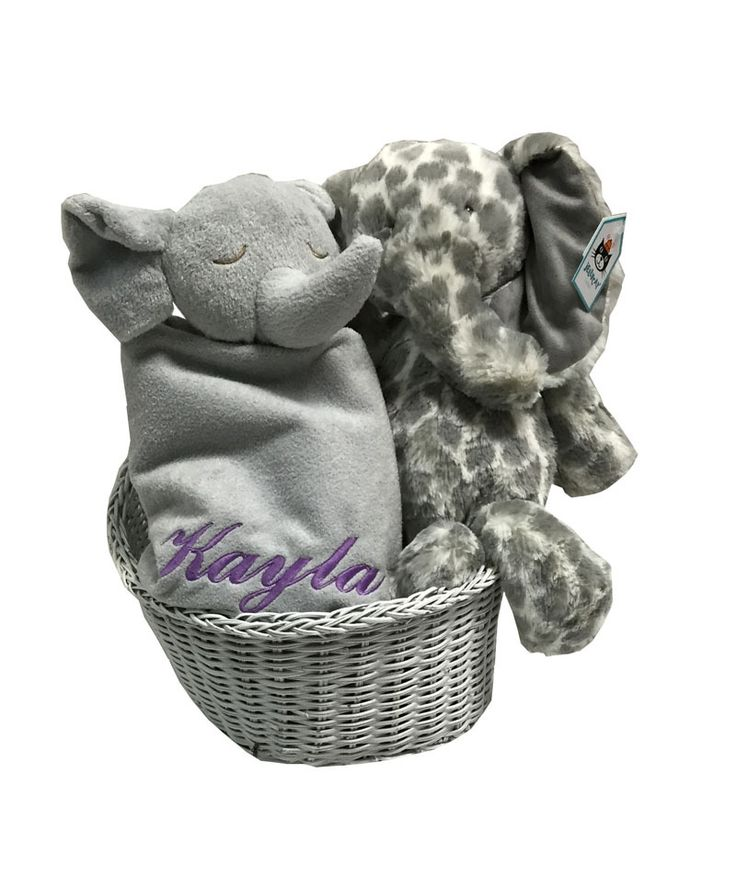 71 best baby gift baskets images on pinterest baby gift baskets namely newborns personalized baby gift basket basketful full of elephants neutral baby gift with name negle Image collections