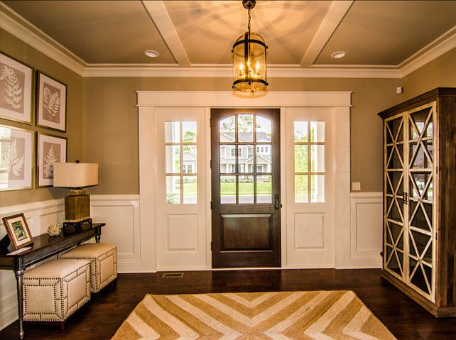 Foyer Art Concept : Beautiful family home with open floor plan bunch