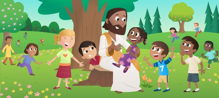 Lasten Raamattusovellus – Jeesus Ja Lapset