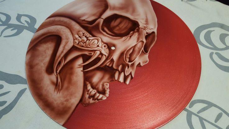 Skull and Snake Record
