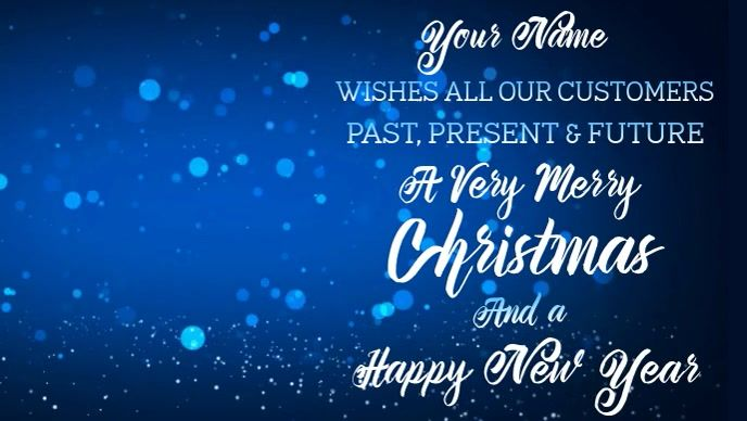 Merry Christmas Video Template Christmas Templates Christmas Facebook Cover Merry Christmas Greetings
